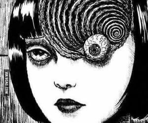 manga, uzumaki, and junji ito image