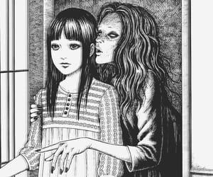 creepy, horror, and manga image