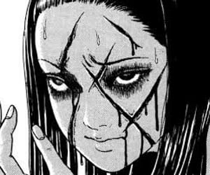 manga, horror, and tomie image