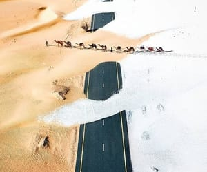 desert, places, and road image