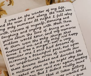 aesthetics, cursive, and handwriting image
