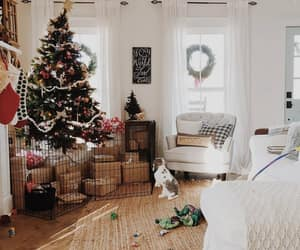 christmas, country living, and farmhouse style image