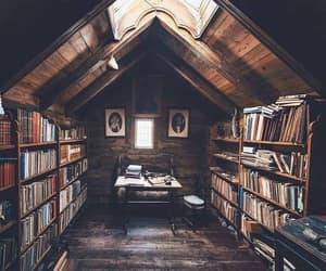 book, library, and bookshelf image
