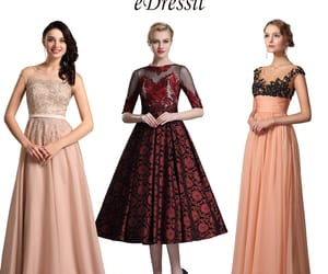 hot sale, party gowns, and lace formal dress image