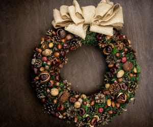 etsy, christmas wreath, and front door decor image