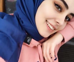 girls, hijab, and hijab fashion image