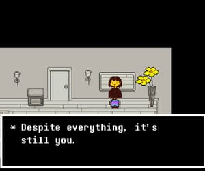 undertale, frisk, and game image
