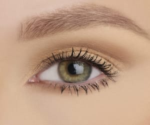eye makeup, fashion, and mascara image
