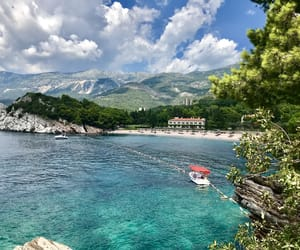 holidays, sea, and Montenegro image