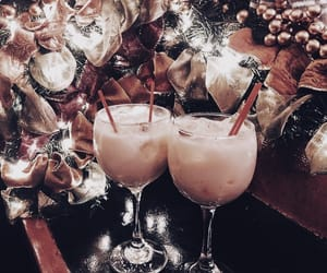 christmas, decorations, and drinks image