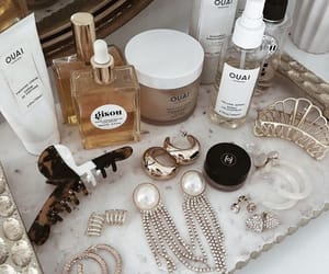 beauty, makeup, and jewelry image