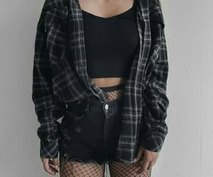accessories, black, and girl image