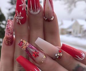 acrylic, design, and fake nails image