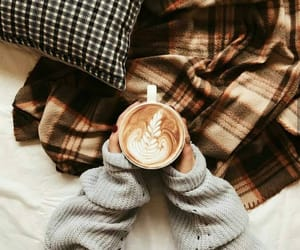 coffee and autumn image