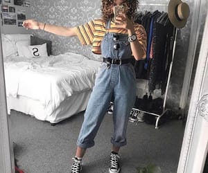 converse, outfit, and overall image