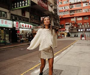 blogger, fashion, and hong kong image