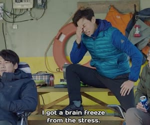 caps, korean, and movie image