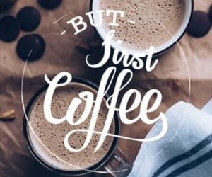 coffee, autumn, and christmas image