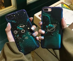 blue, case, and galaxy image
