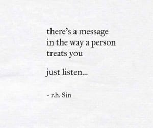 listen, life, and quotes image