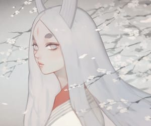 anime girl, naruto, and kaguya otsutsuki image