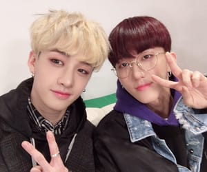 kpop, Chan, and stray kids image