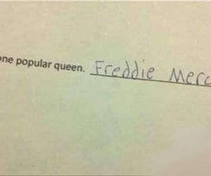 Freddie Mercury, funny, and Queen image