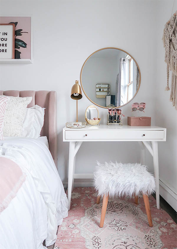 Small bedroom vanity design #vanity #bedroom #vanitybedroom ...