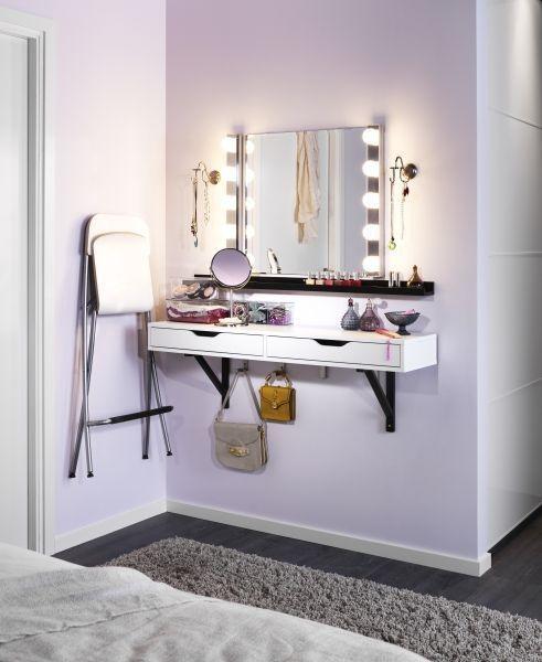 Tiny bedroom vanity ideas #vanity #bedroom #vanitybedroom ...