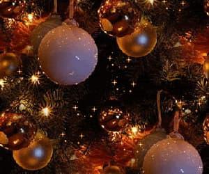 christmas, gif, and decorations image