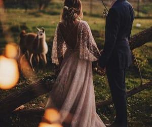 dress, wedding dress, and ideas image