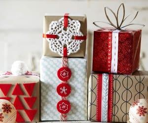 gift, christmas, and holiday image