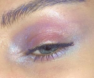 makeup, aesthetic, and pink image