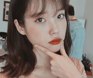 cute girl, kpop, and iu image