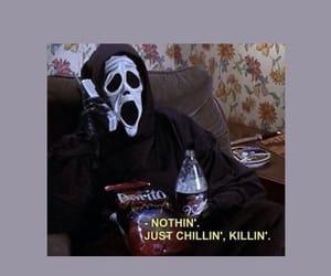 horror, scream, and wallpaper image