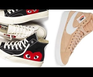 converse, nike, and vans image
