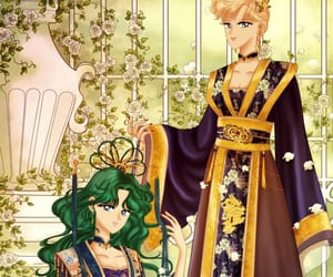 anime, art, and sailor neptune image