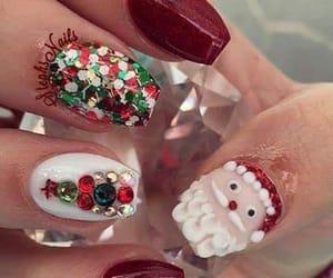 fashion, winter, and nails art image