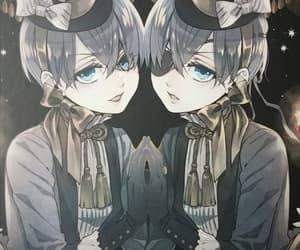 anime, black butler, and boys image