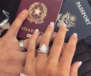 couple, goals, and passport image
