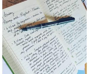 journal, writing, and journal aesthetic image