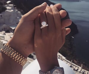 ring, couple, and goals image
