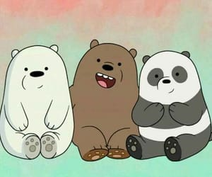 bear, panda, and wallpaper image