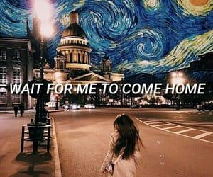 aesthetic, home, and Lyrics image