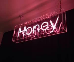 honey, light, and neon image