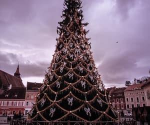 brasov, christmas, and cloudy image