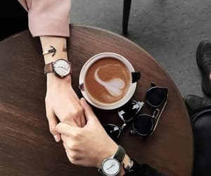 coffee, couple, and goals image