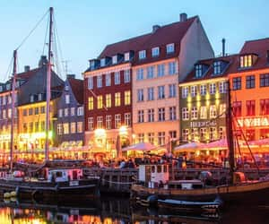beautiful, copenhagen, and Houses image