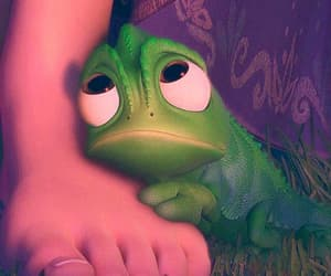 tangled, disney, and pascal image
