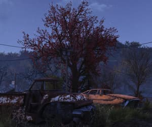 evening, fallout, and rusted image